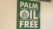 Palm oil sign